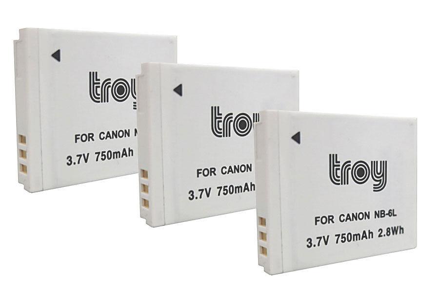 Troy Akku baugleich mit NB-6L passend u.a. für: Canon Digital Ixus 85 IS, 95 IS, 105, 200 IS, 210 IS, 300 HS, 310 HS Canon PowerShot D10, D20, D30 Canon PowerShot S90, S95, S120, S200 Canon PowerShot SX170 IS, SX240 HS, SX260 HS, SX270 HS, SX280 HS, SX500 IS, SX510 HS, SX520 HS, SX530 HS, SX600 HS, SX610 HS, SX700 HS, SX710 HS